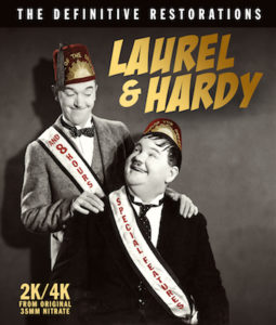 Laurel & Hardy: The Definitive Restorations' Coming on Disc June 16 From MVD