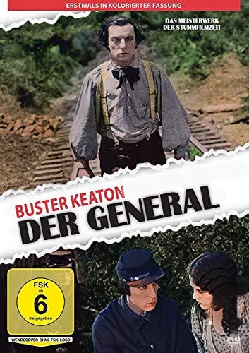 Buster Keaton – Der General 1926 – kolorierte Version: Amazon.de: Buster Keaton, MarionMack, Charles HenrySmith, FrankBarnes, GlenCavender, JimFarley, FrederickVroom, JoeKeaton, Buster Keaton, Buster Keaton, MarionMack: DVD & Blu-ray