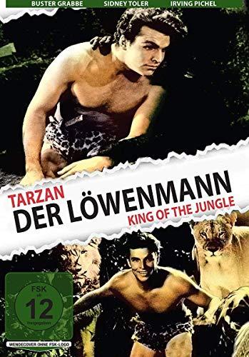 Tarzan – Der Löwenmann (King of the Jungle): Amazon.de: FrancisDee, BusterCrabbe, SidneyToler, IrvingPichel, SamBaker, RobertBarrat, H.BruceHamberstone, MaxMarcin, FrancisDee, BusterCrabbe: DVD & Blu-ray