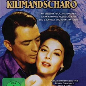 Schnee am Kilimandscharo: Amazon.de: Gregory Peck, Ava Gardner, Susan Hayward, Henry King, Gregory Peck, Ava Gardner: DVD & Blu-ray