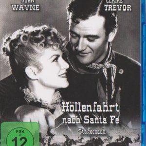 Höllenfahrt Nach Santa Fe (Stagecoach) [Blu-ray]: Amazon.de: John Wayne, Claire Trevor, Andy Devine, John Ford, John Wayne, Claire Trevor: DVD & Blu-ray