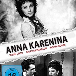 Anna Karenina (1948): Amazon.de: VivienLeigh, RalphRichardson, KieronMoore, HughDempster, MaryKerridge, MarieLohr, JulienDuvivier, VivienLeigh, RalphRichardson: DVD & Blu-ray