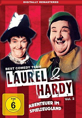 Laurel & Hardy Vol. 2: Abenteuer im Spielzeugland: Amazon.de: Stan Laurel, Oliver Hardy, Henry Brandon, Jean Darling, Charley Rogers, Gus Meins, Stan Laurel, Oliver Hardy: DVD & Blu-ray
